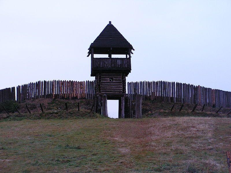 Wothanburg - středověká tvrz - Curia Vítkov