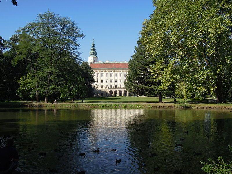 Zámek Kroměříž UNESCO
