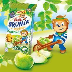 Brumíkovy novinky- jahůdka a jablíčko