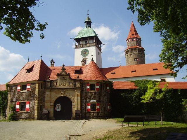 Hrad Bouzov - Na filmovém plátně - Království potoků