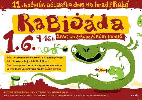 Tipy na akce pro děti – Den dětí 2013 - Hrad Rabí