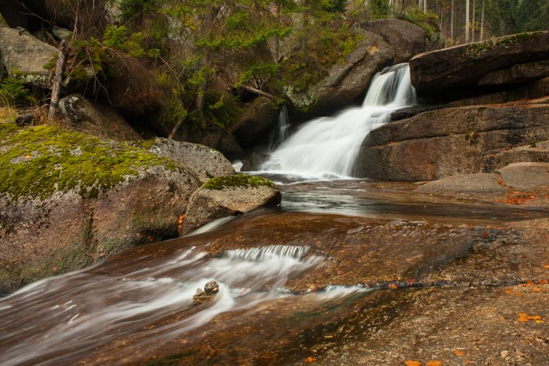Do údolí Černé Desné za vodopády