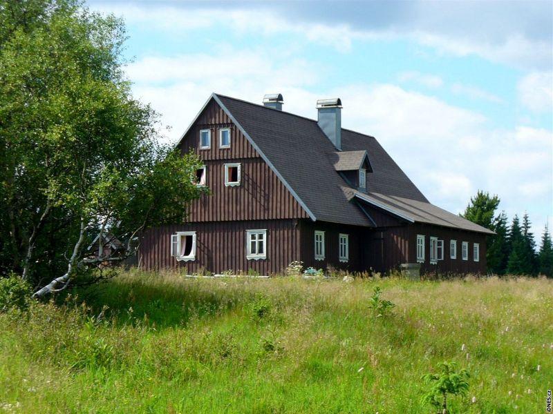 Na rašeliniště Jizery kolem Hnojového domu - Hnojový dům