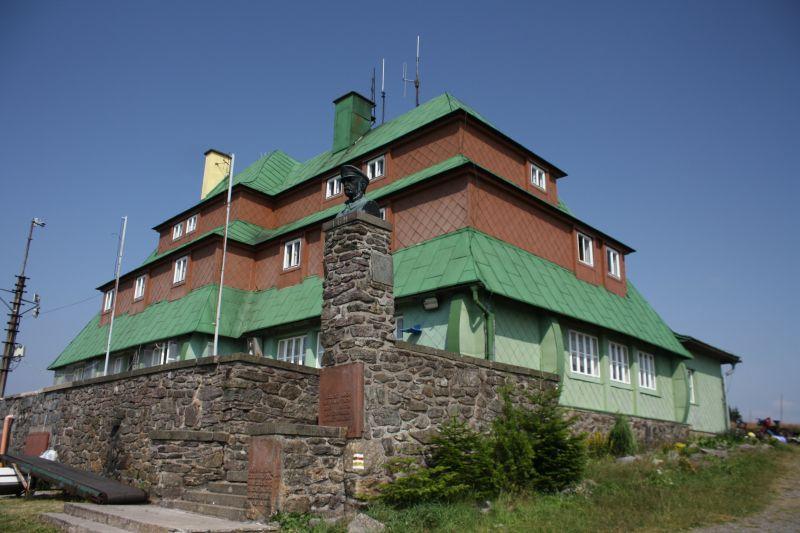 Královská hřebenovka - Masarykova chata
