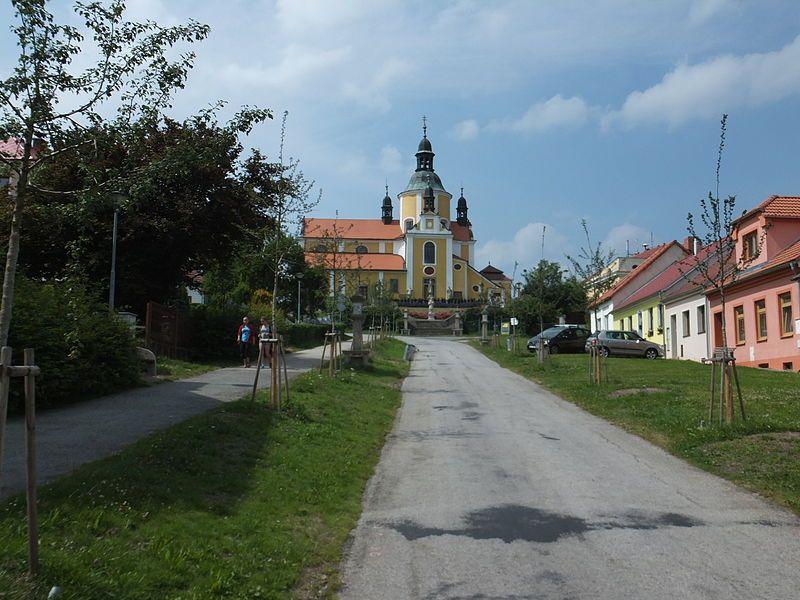 Naučná stezka Mikuláše Rutharda - ulice Křížová cesta