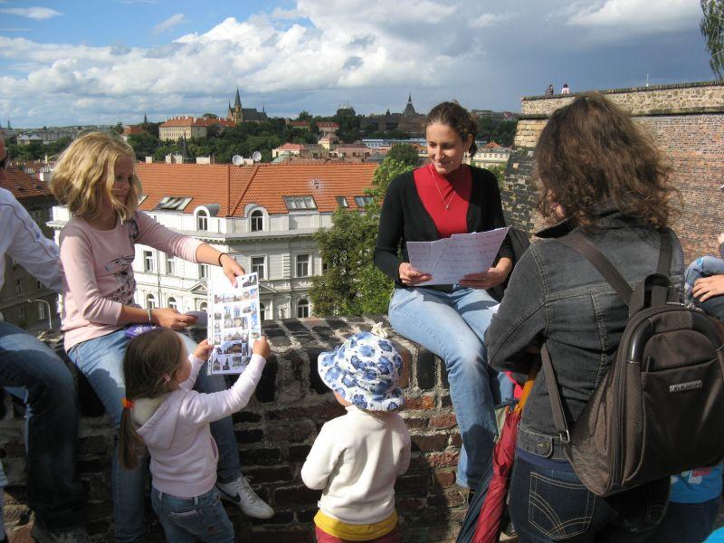 Eva Bartušková, Sightseeing Prague