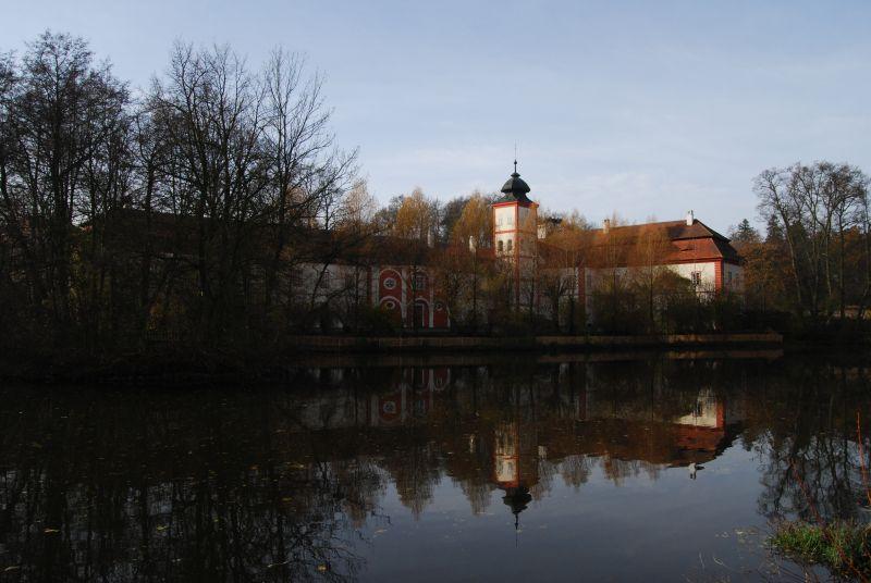 Zámek Drahenice u Březnice