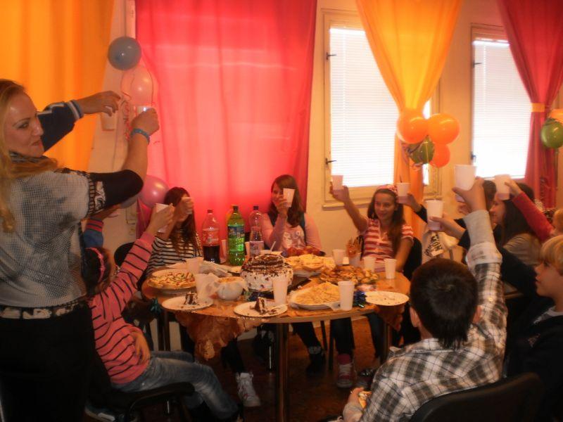 Narozeninová párty v Atlantis Center Praha