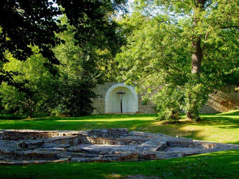 Klášter Sázava - Severní zahrada pro odpočinek