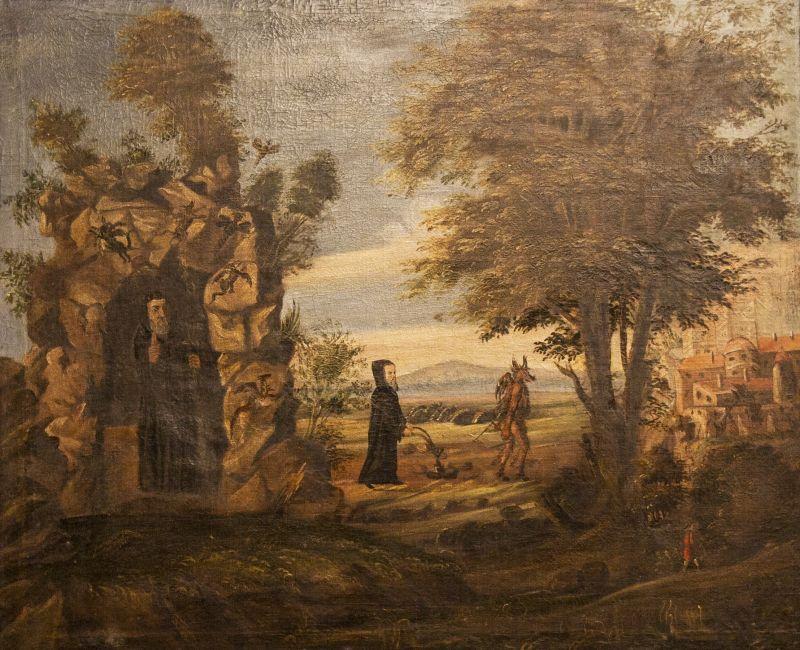 Klášter Sázava - sv. Prokop orá s čertem