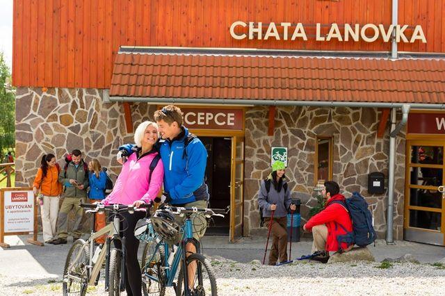 Chata Lanovka Lipno
